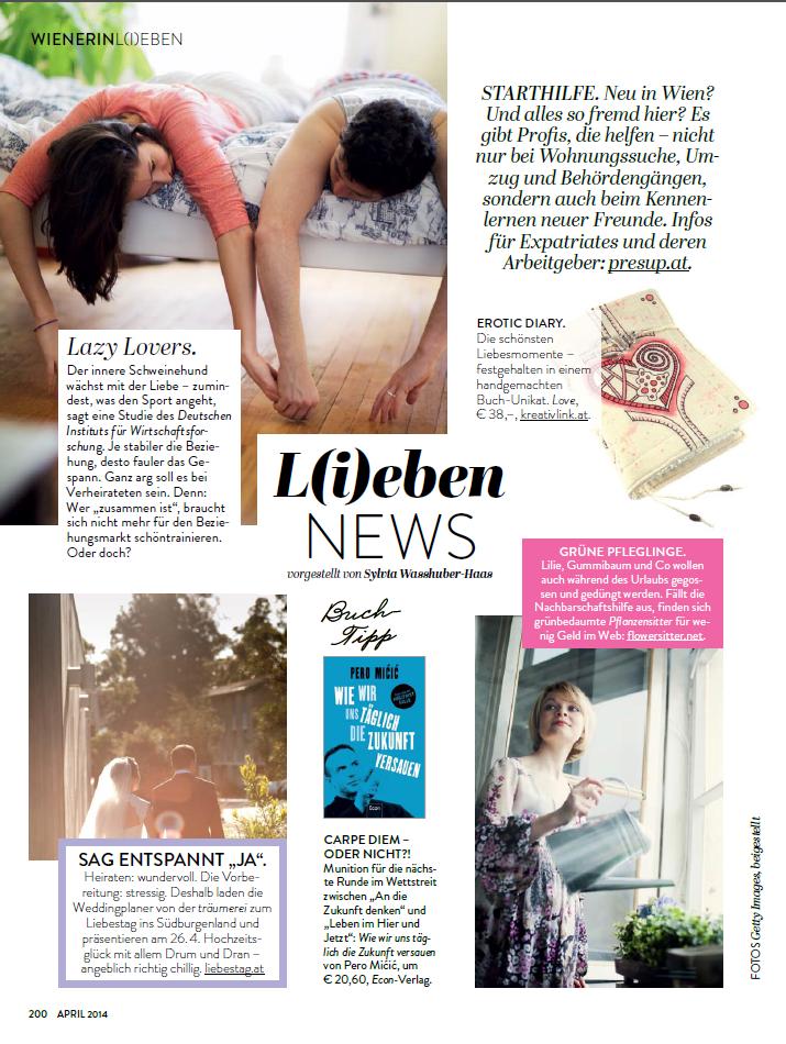 PRESUP in Wienerin Magazine
